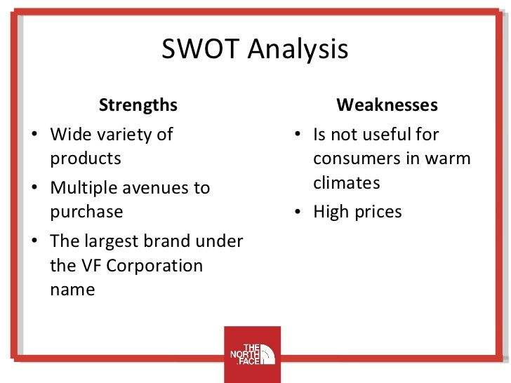 the swot analysis of the north Free knowledge, concepts and ideas about marketing management and marketing strategy, sample of swot analysis : ford motor company.