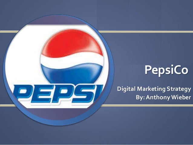 Digital Strategy-Pepsi