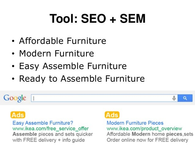 Msu advertising 420 ikea digital strategy for Tools to assemble ikea furniture
