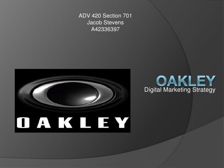 ADV 420 Section 701  Jacob Stevens    A42336397                      Digital Marketing Strategy