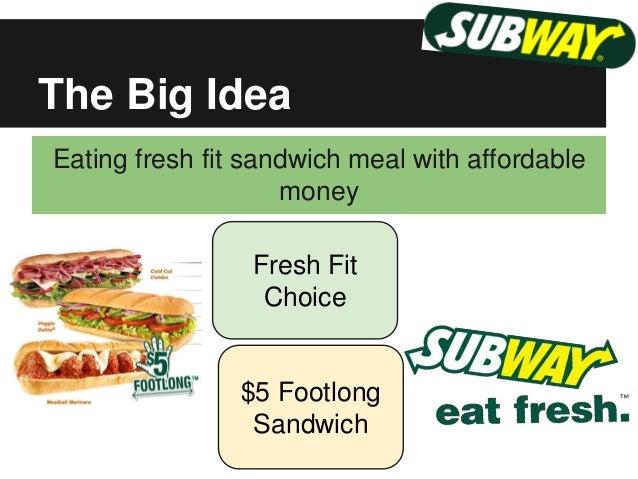 subway marketing strategy 2017