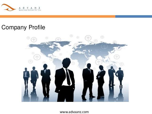 www.advaanz.com Company Profile