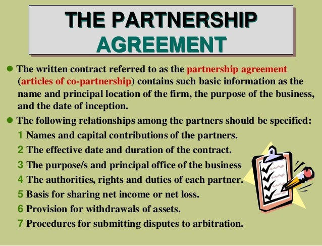 Accounting for partnership by guerrero et al decision making 15 the partnership agreement platinumwayz