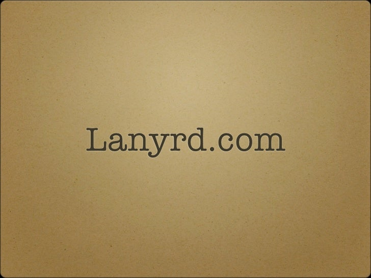 Lanyrd.com