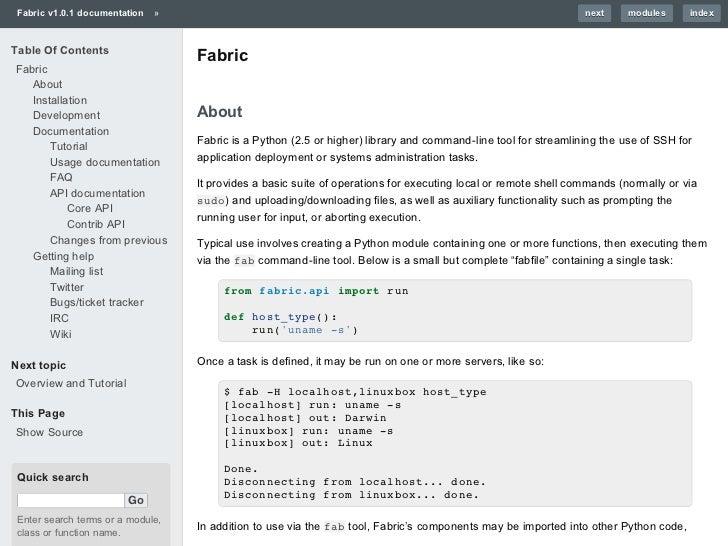 Simple examplesREDIS_URL = http://mirrors.kernel.org/ubuntu/pool/ +   universe/r/redis/redis-server_2.0.0~rc2-1_amd64.debd...