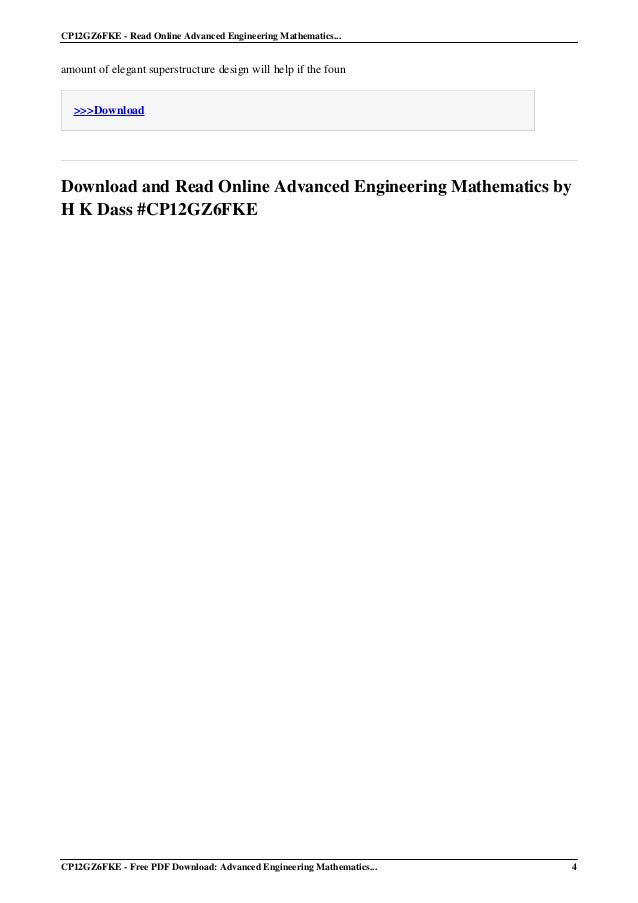 Mathematics pdf hk dass engineering higher