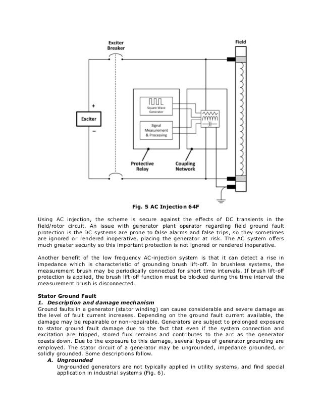 Ideal Advanced Generator Ground Fault Protections VG75