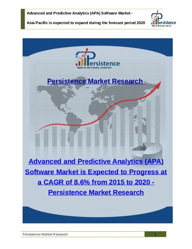 Advanced and Predictive Analytics (APA) Software Market - Asia Pacific is expected to expand during the forecast period 20...