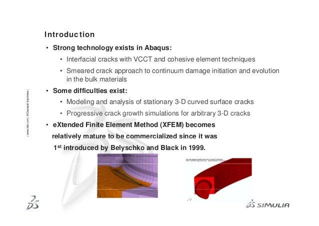 Advanced xfem-analysis