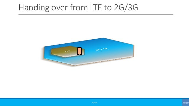 Handing over from LTE to 2G/3G ©3G4G