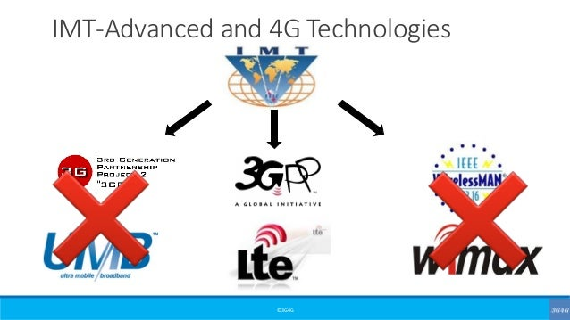 ©3G4G IMT-Advanced and 4G Technologies
