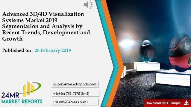 Advanced 3 d 4d visualization systems market 2019