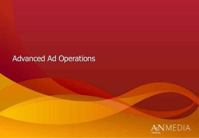 Advanced Ad Operations