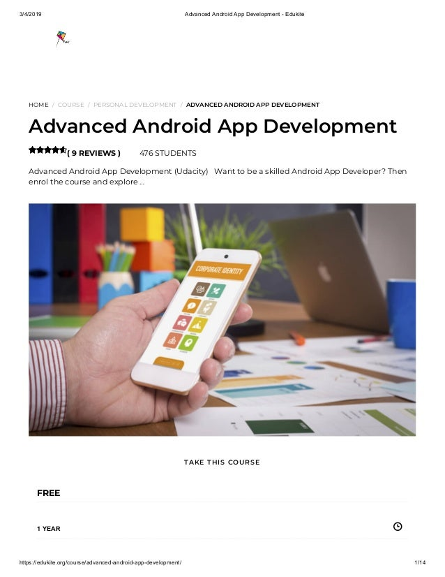 Free android app development course | Peatix