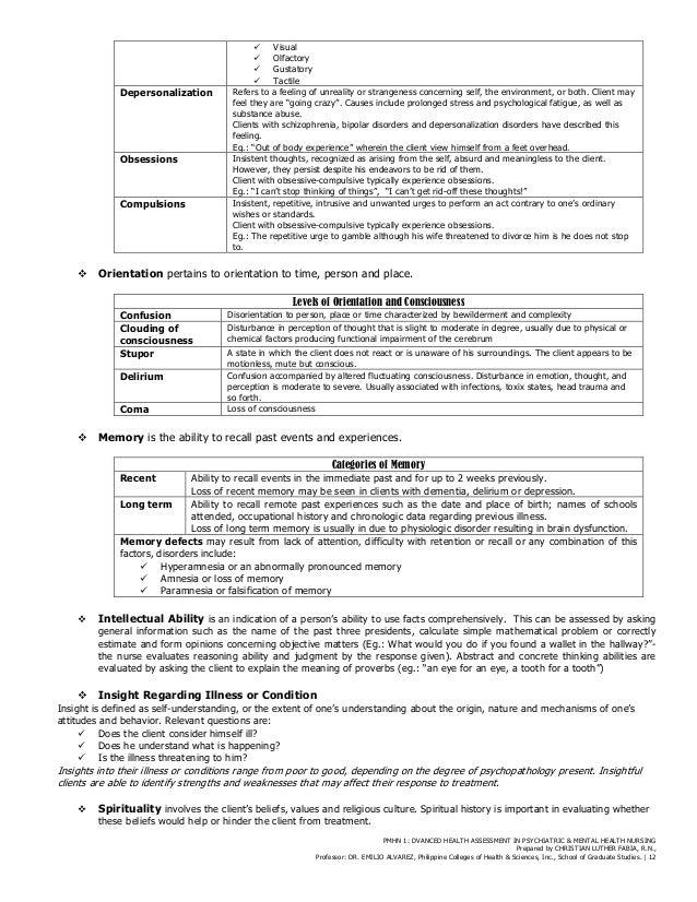 Health Assessment Template Contegri Com