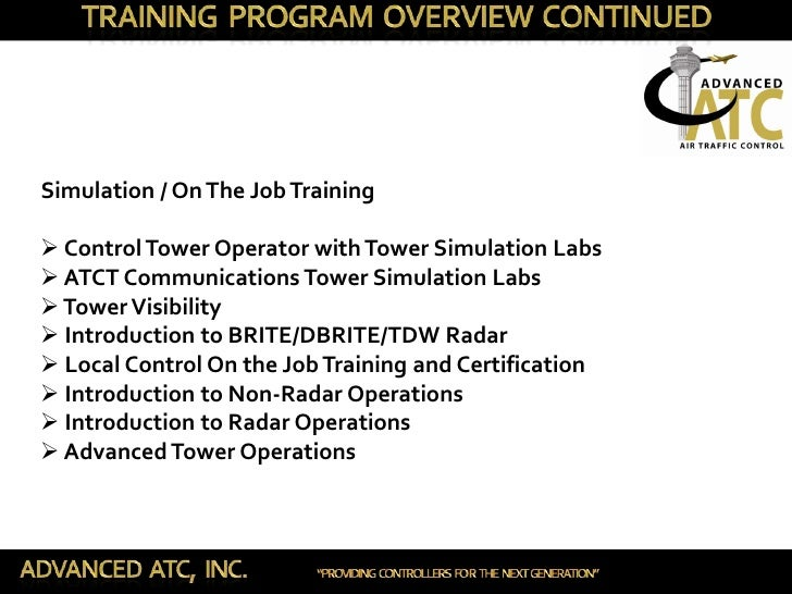 Advanced Atc Inc Academy Presentation
