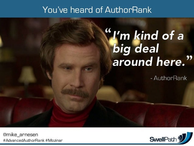 Advanced AuthorRank: 25 Tactics, from the individual to the enterprise level Slide 3