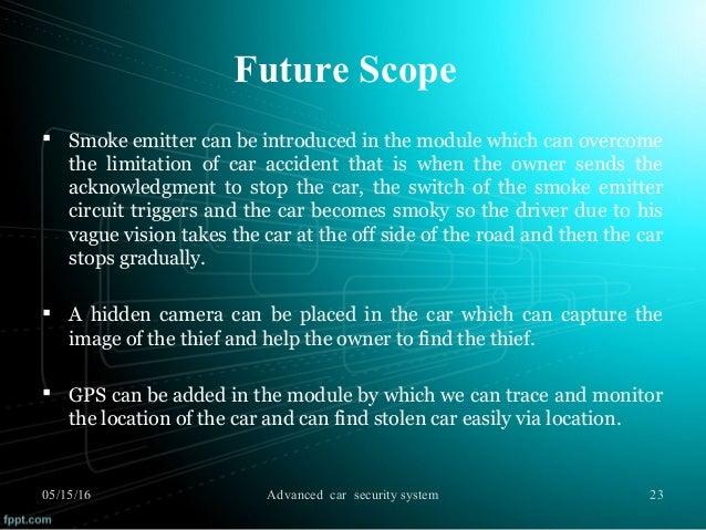 Advanced car security system