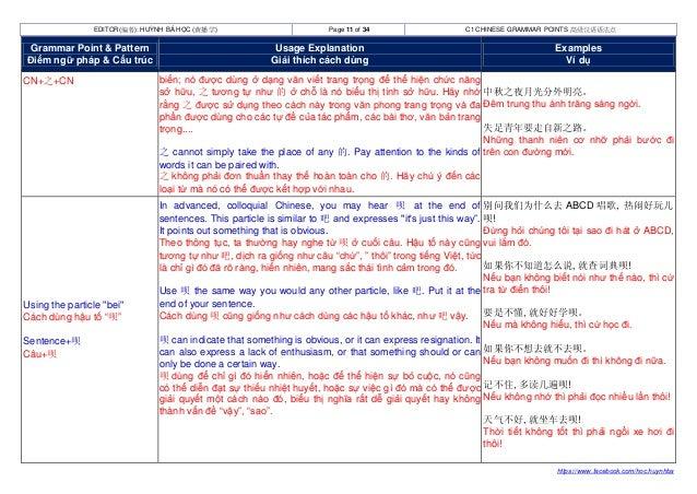 Advanced Chinese Grammar Points Ngữ Phap Tiếng Trung Trinh độ Cao C Nguyên nhân, triệu chứng, chẩn đoán và điều trị. advanced chinese grammar points ngữ