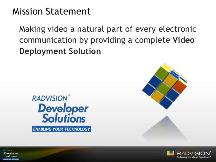 What is the vision statement of Nokia?