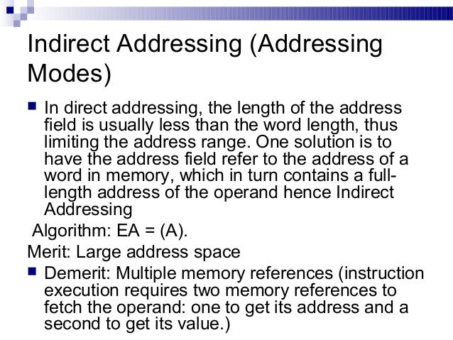 types of addressing modes with examples pdf