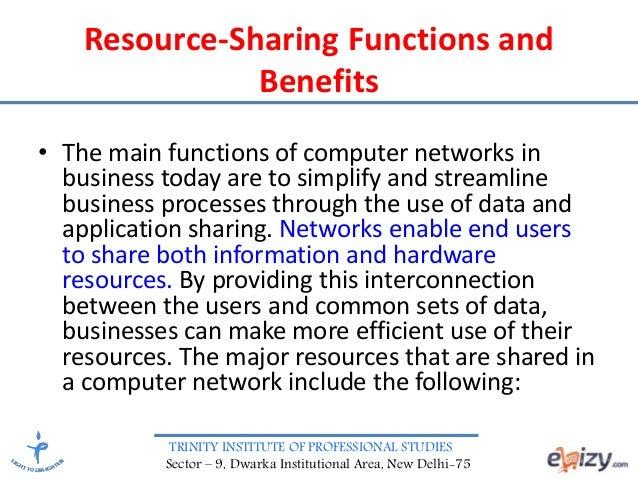 Advanced computer network