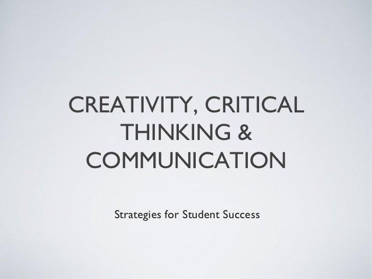 Critical thinking institute