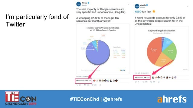 #TiEConChd   @ahrefs I'm particularly fond of Twitter