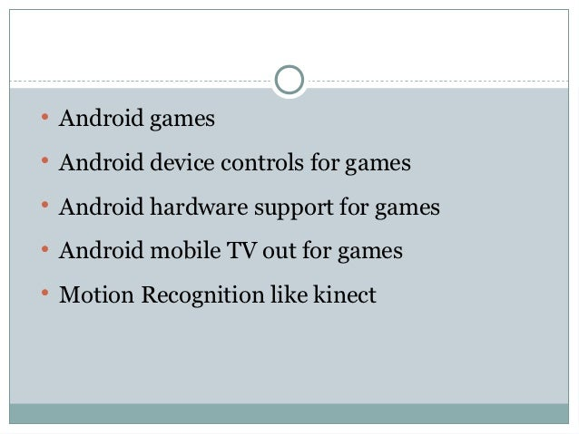 Advanced controlls for android games Slide 2