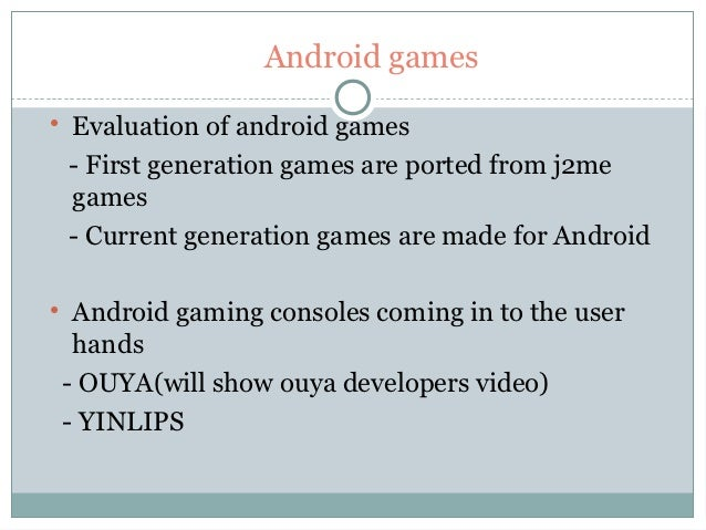 Advanced controlls for android games Slide 3