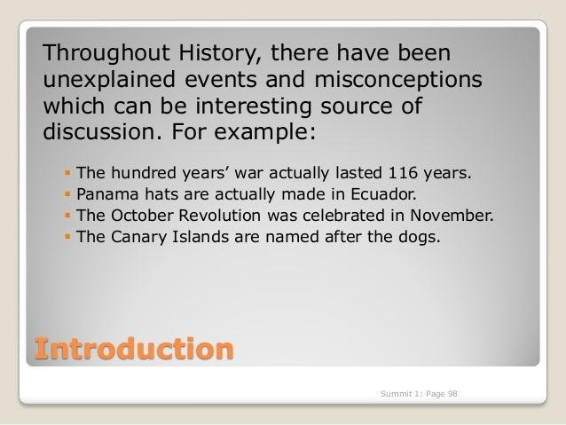 Advanced conversation, History's Mysteries Slide 2
