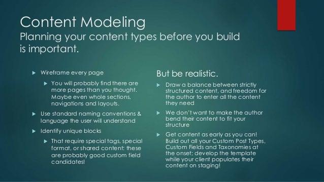 Structuring Content in WordPress using Advanced Custom Fields slideshare - 웹