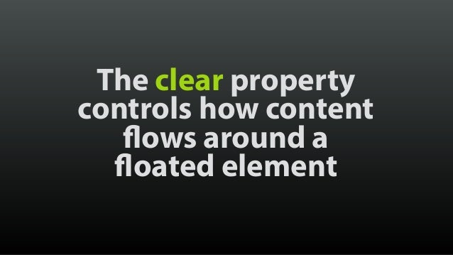 When all children of an element are floated, it has no inherent height