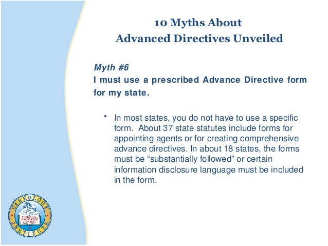 39. 10 Myths About Advanced Directives ...