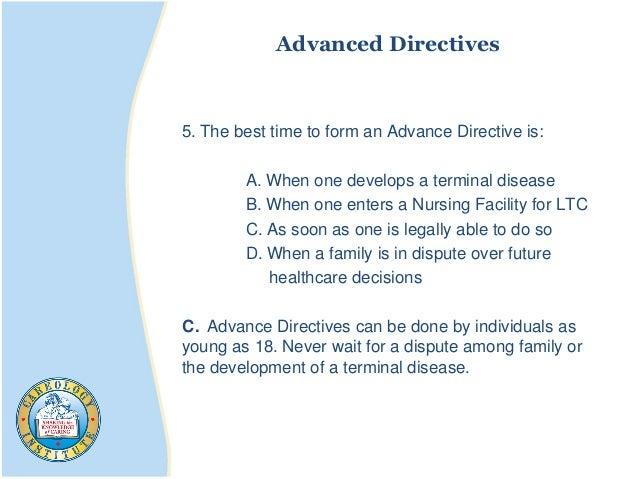 Advanced Directives 5.
