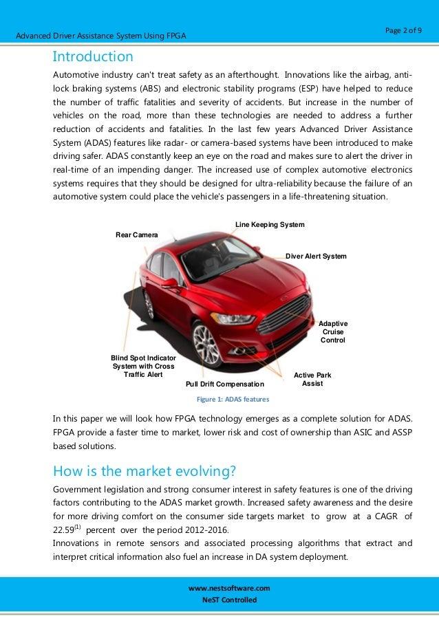 Advanced Driver Assistance System using FPGA Slide 2