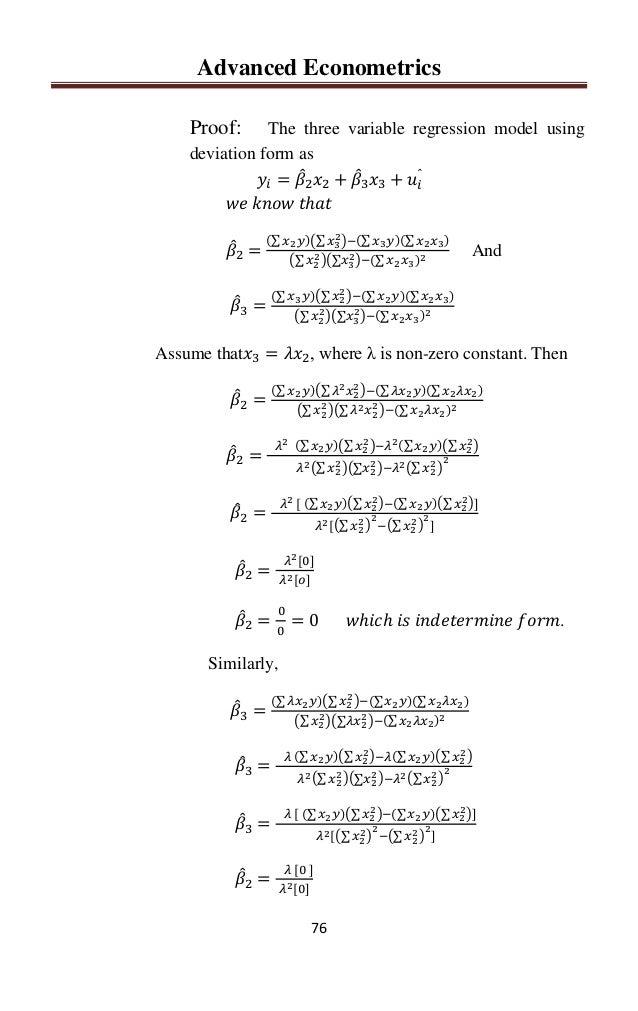 Lyric lyric wake hillsong : Advanced Econometrics by Sajid Ali Khan Rawalakot: 0334-5439066