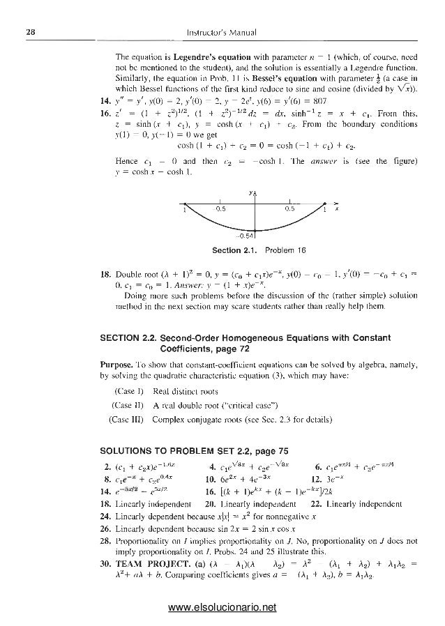 Buck advanced calculus solutions Manual