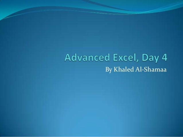 By Khaled Al-Shamaa