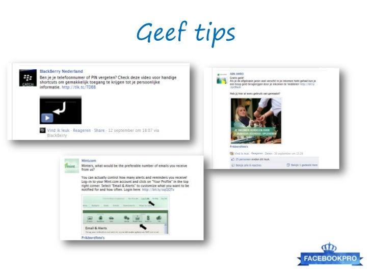 Met Conversocial kan je ook updatesplaatsen/schedulen en pagina's modereren