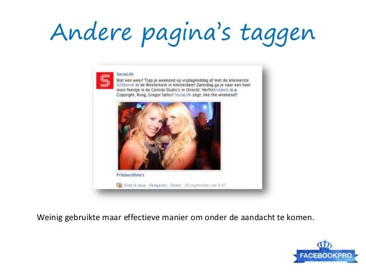SimplyMeasured: Competitor AnalysisBron: http://www.facebook.com/DutchCowboys