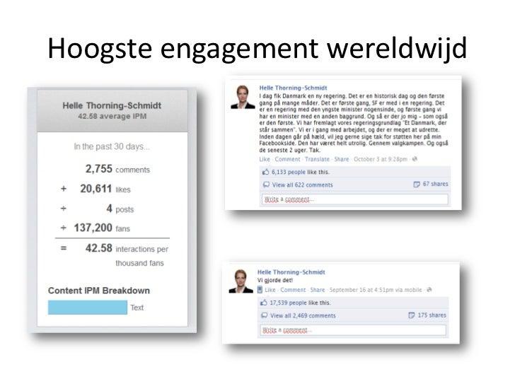 Hoogste engagement in NL        IPM = 11,47