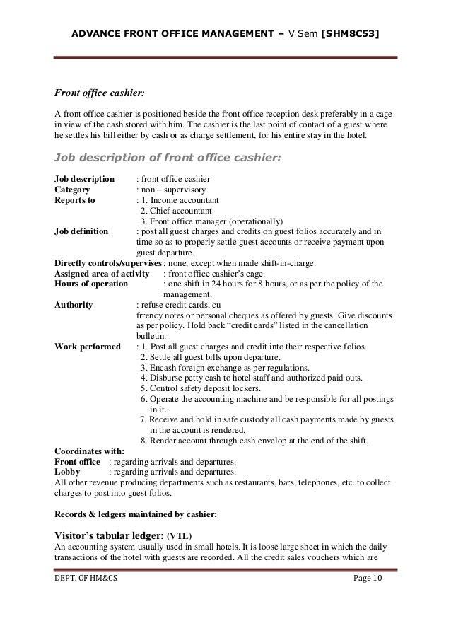 Job Description Of Travel Agency Accountant