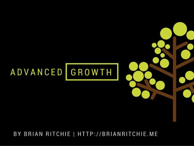 ADVANCEDIGROWTHI  BY BRIAN RITCHIE I HTTP: //BR| ANR| TCH| E.ME