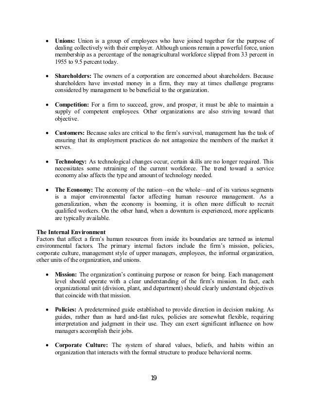 Advanced Human Resource Management Certificate