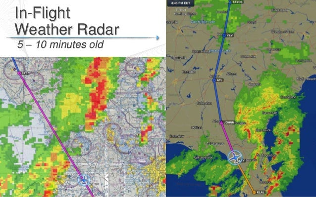 Flying Weather Map.Advanced Flying With The Ipad