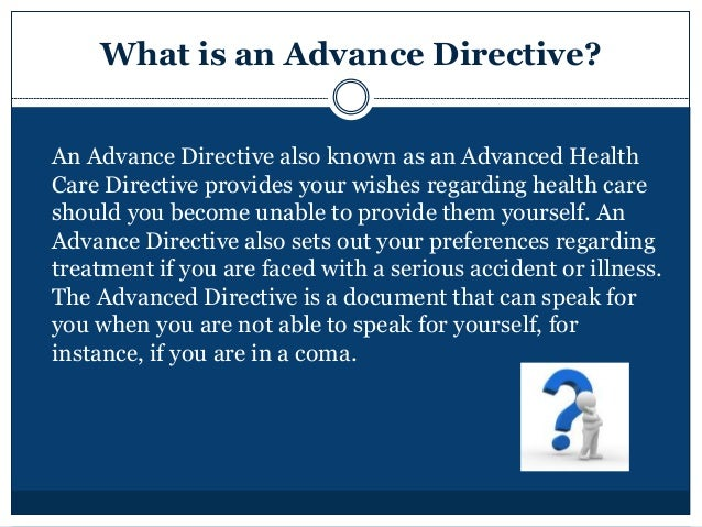 Advanced Health Care Directive In Vancouver BC