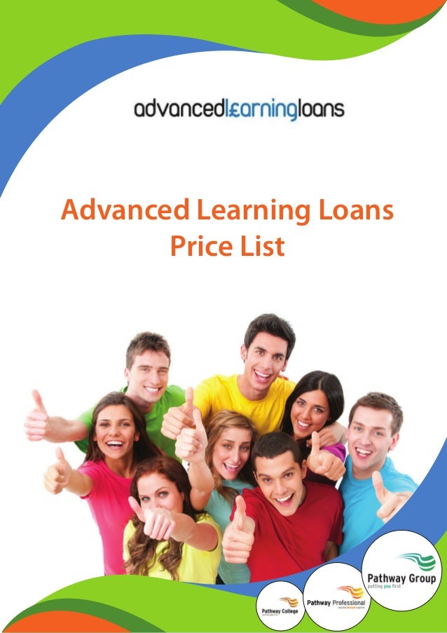 Advanced Learning Loans Price List