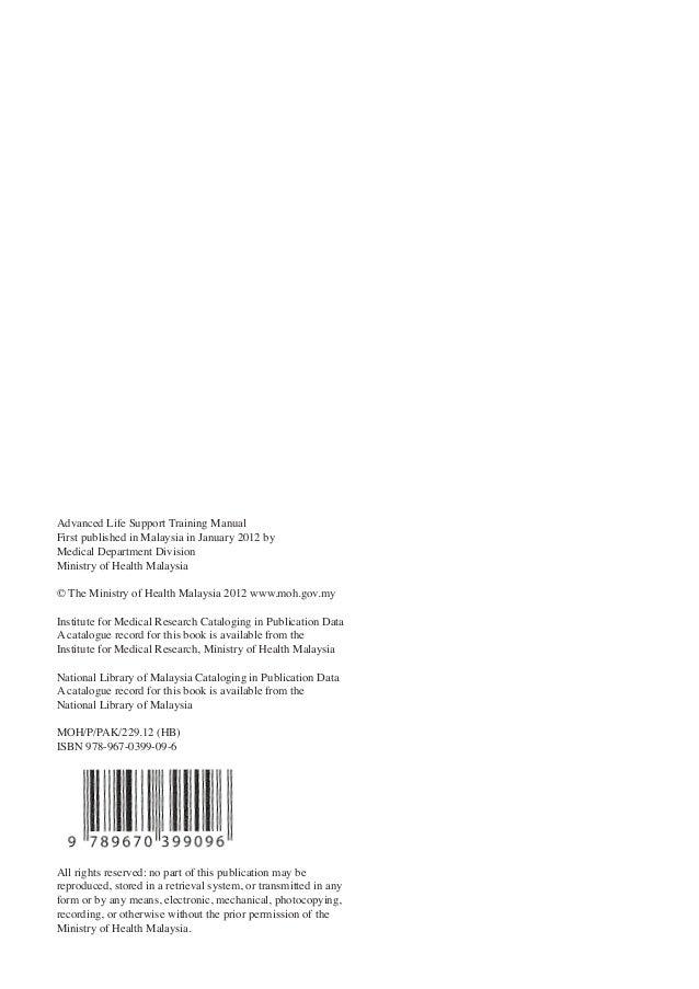 advanced life support manual 2012 rh slideshare net ACLS Provider Manual ACLS Provider Manual
