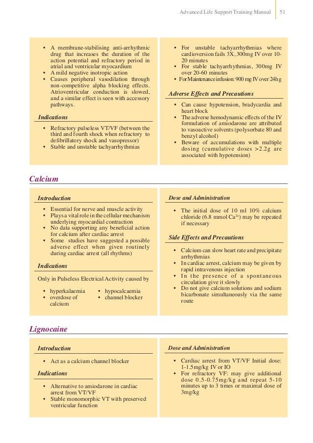 advanced life support manual pdf